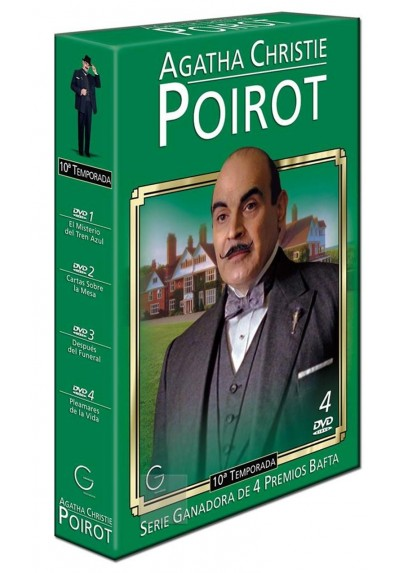 Poirot 10ª Temporada - Agatha Christie