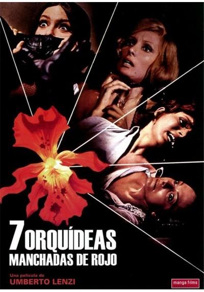 7 Orquídeas Manchadas de Rojo (Sette orchidee macchiate di rosso)