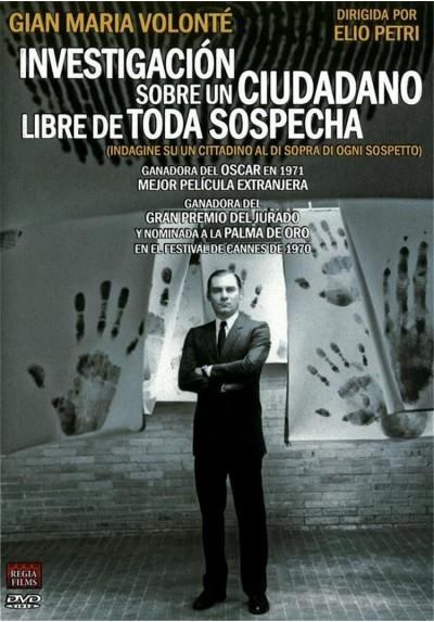 Investigación Sobre un Ciudadano Libre de Toda Sospecha (Indagine su un cittadino al di sopra di ogni sospetto)