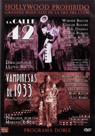 Pack Hollywood Prohibido: La Calle 42 + Vampiresas de 1933