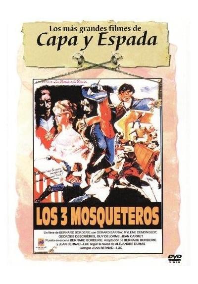 Los 3 Mosqueteros (1961) (Les Trois Mousquetaires : Les Ferrets De La Reine)