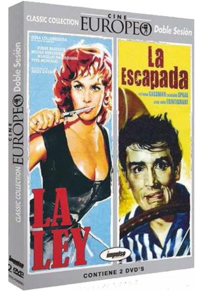 Pack Cine Europeo (La Ley y La Escapada)