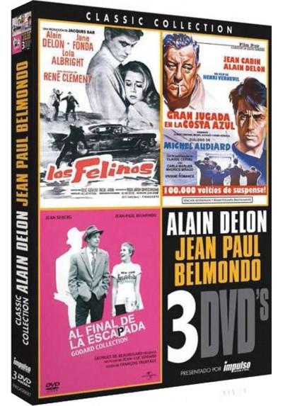 Pack Cine Alain Delon / Jean Paul Belmondo