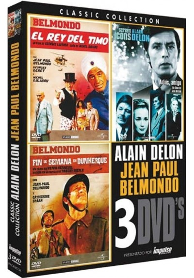 Pack Cine Alain Delon / Jean Paul Belmondo Vol.2