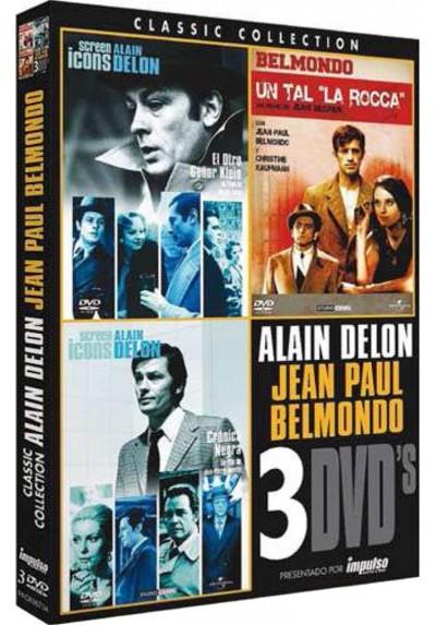 PACK ALAIN DELON / BELMONDO 4
