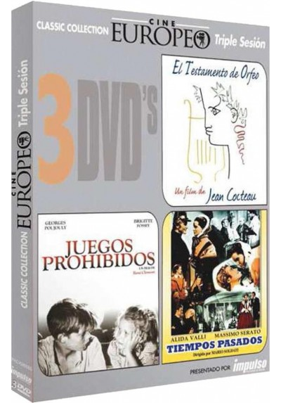 PACK TRIPLE CINE EUROPEO 1