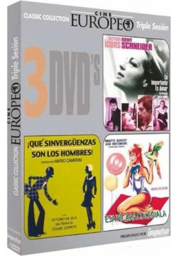 PACK TRIPLE CINE EUROPEO 2