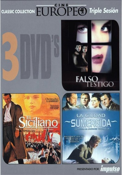 PACK TRIPLE CINE EUROPEO 4