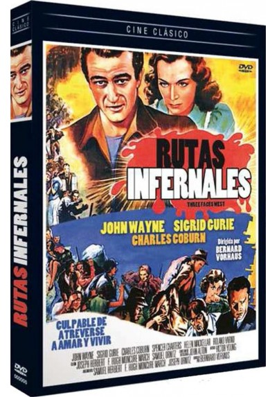 Rutas Infernales (Three Faces West)