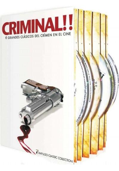Criminal!! - Grandes Clásicos Del Crimen En El Cine