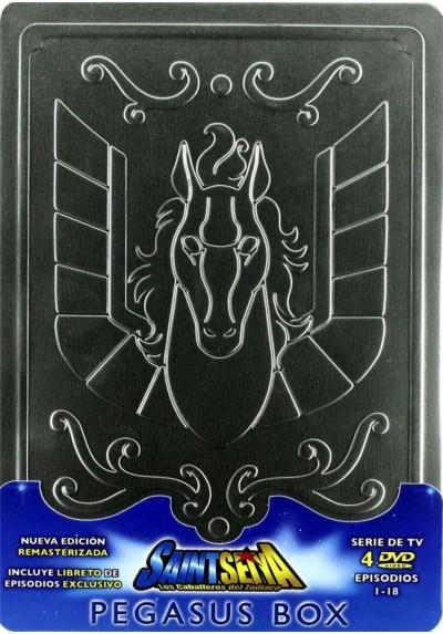 Saint Seiya - Los Caballeros Del Zodiaco : Saga Del Santuario - Pegasus Box (Episodios 1 - 18)