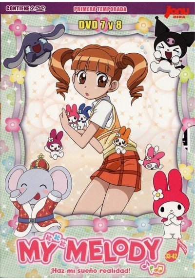 My Melody - Primera Temporada DVD 7 y 8