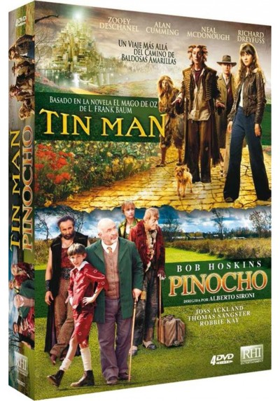 Pack Tin-Man / Pinocho
