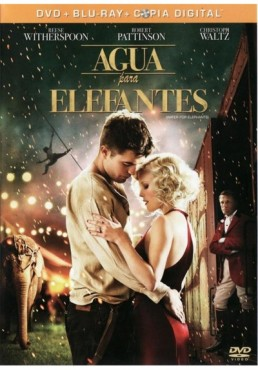 Agua Para Elefantes (Dvd+Blu-Ray+Copia Digital)