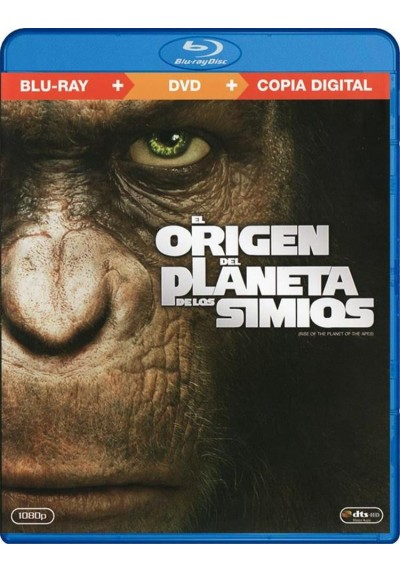 El Origen Del Planeta De Los Simios (Blu-Ray+Dvd+Copia Digital)